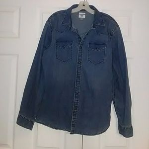 Women's  Collared Stretch Jean Jacket